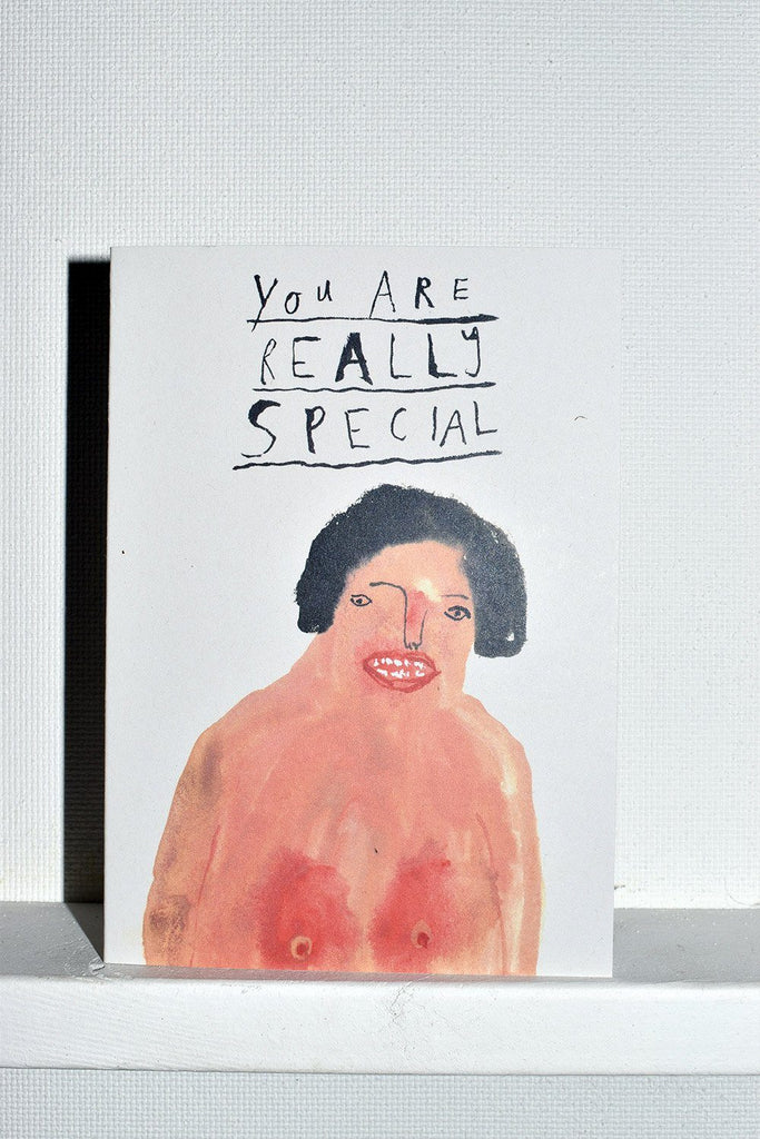 Faye Moorhouse You Are Really Special Greeting Card