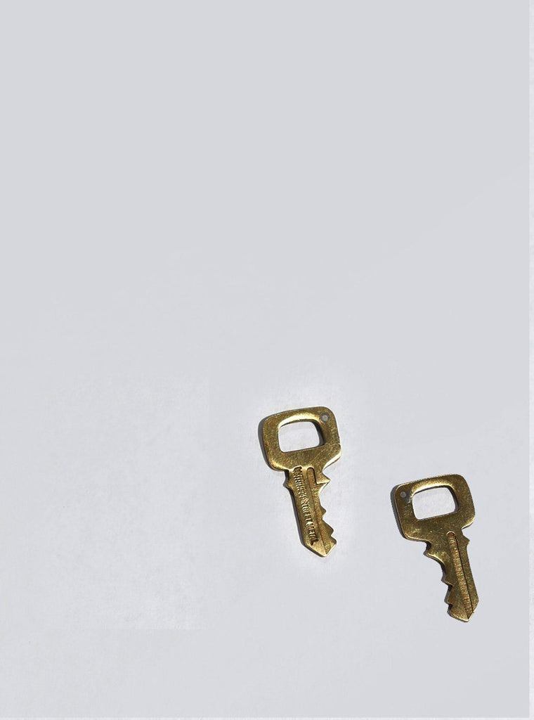 Key Stud Earrings / Mitchell Street Metal
