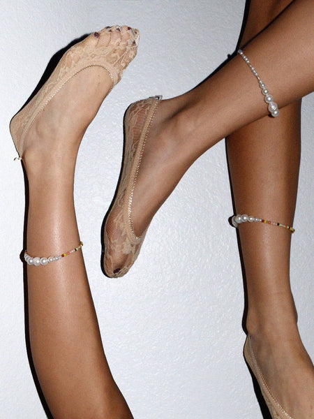 Luiny Pearls Anklet