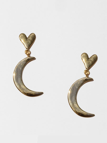 Luiny Half Moon Earrings