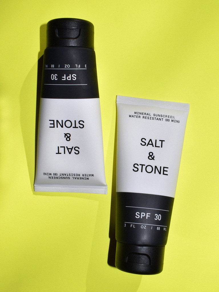 SPF 30 Sunscreen Lotion / Salt & Stone
