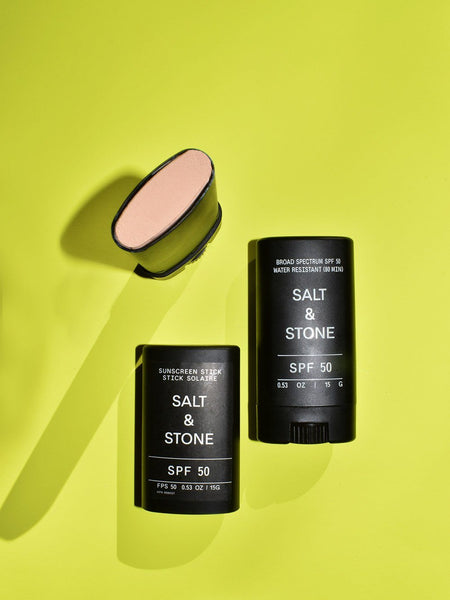 SPF 50 Face Stick / Salt & Stone