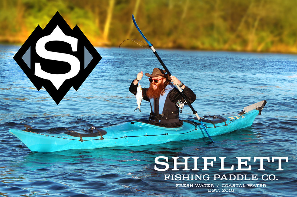 You need a Fishing Paddle!
