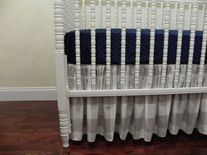 Khaki Deer Baby Crib Bedding Set Hunter- Woodland Boy Crib Bedding Set, Crib Rail Cover
