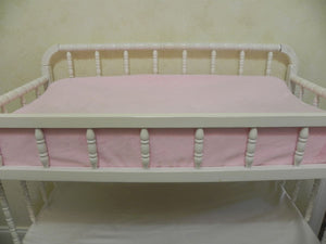 Changing Pad Cover - Smooth Light Pink Minky