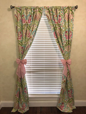 Curtain Tie Back Bows