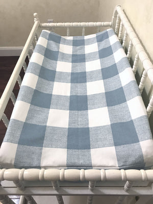 Changing Pad Cover - Blue Buffalo Plaid