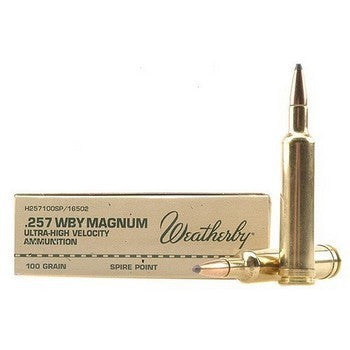 Weatherby 257MAG 115GR
