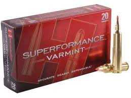 Hornady 204Ruger, V-MAX, 32GR Superformance
