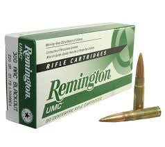 Remington 223REM, Metal Case, 55GR UMC Rifle