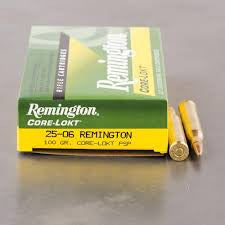 Remington 25-06REM, PSP, 100GR Core-Lokt