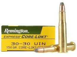 Remington 30-30Win, SP, 150GR Core-Lokt