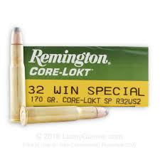 Remington 32WIN Special, SP, 170GR Core-Lokt