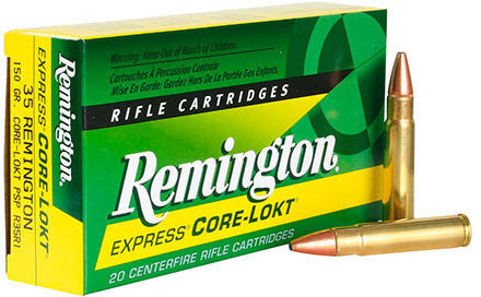 Remington 35REM, SP, 150GR Core-Lokt