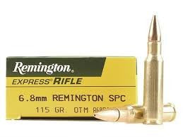 Remington 6.8mm REM SPC, OTM, 115GR Standard