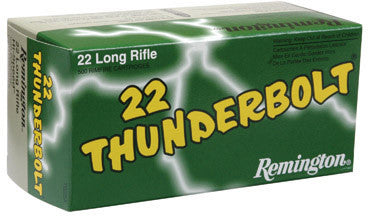 Remington 22LR, RN, 40GR Thunderbolt