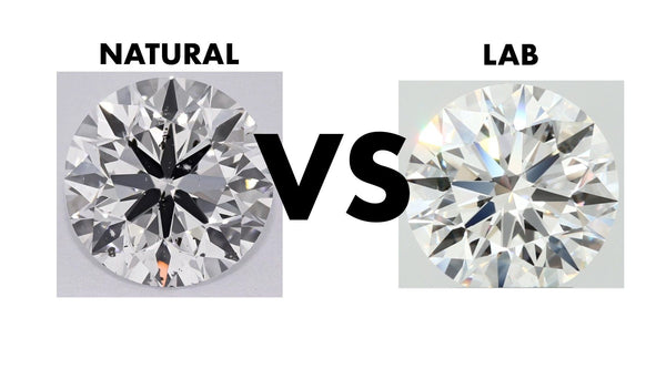 Advantages of natural diamonds vs lab-grown diamond.