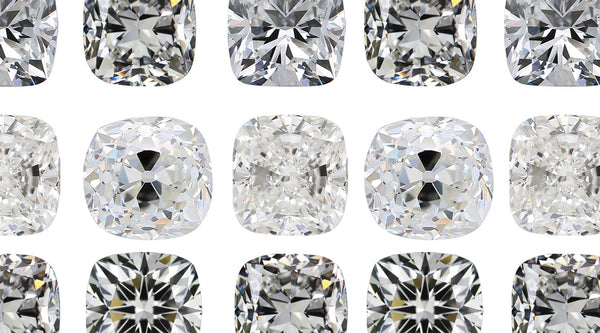 The 4 Types of Cushion Cut Diamonds to Know
