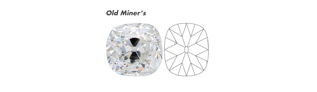 Old Mine Cushion Cut Facet Pattern