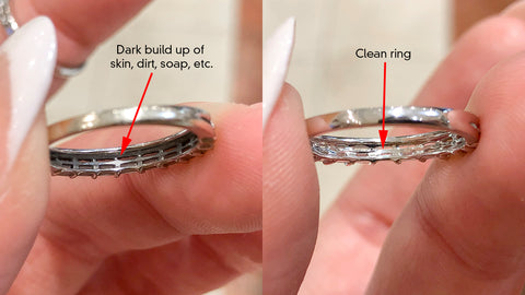 how often should I clean my ring?