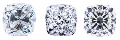 cushion diamond princess bride diamonds