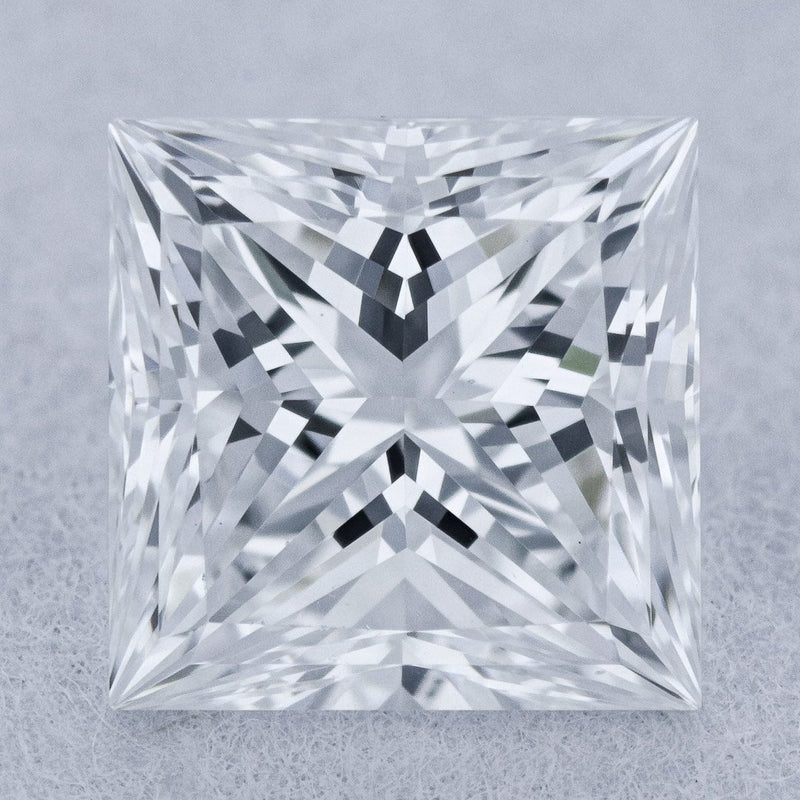 0.72 Carat E-VS2 Princess Cut Natural Diamond - GIA Loose Diamond Princess Bride Diamonds
