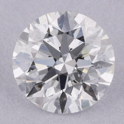0.81 Carat F-SI2 Round Natural Diamond - GIA Loose Diamond Princess Bride Diamonds