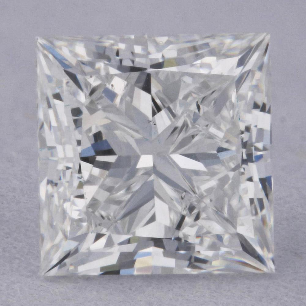 0.90 Carat E-VS2 Princess Cut Natural Diamond - GIA Loose Diamond Princess Bride Diamonds