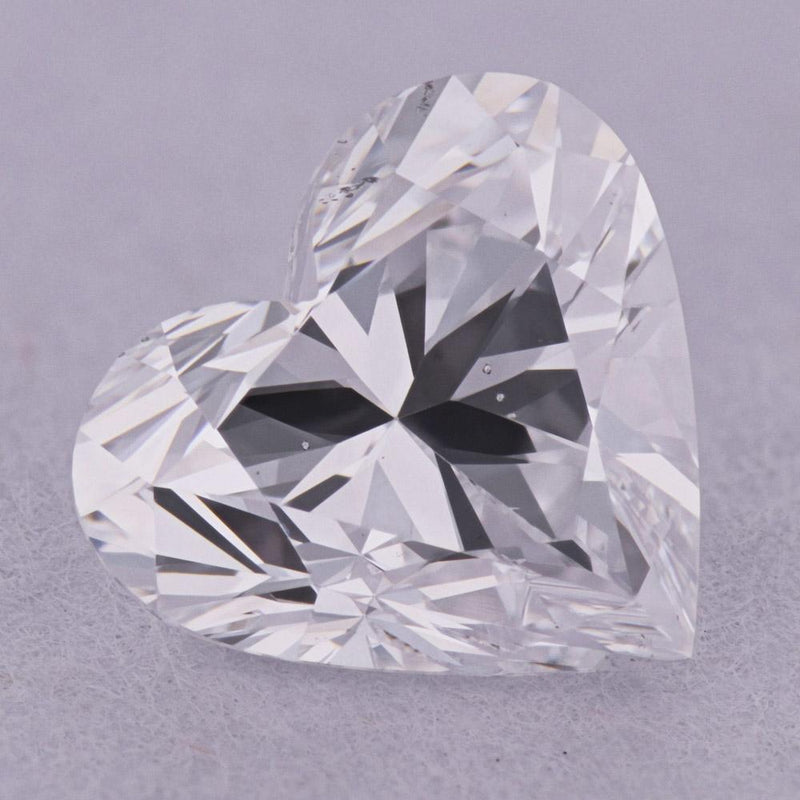 1.01 Carat D-SI1 Heart Natural Diamond - GIA Loose Diamond Princess Bride Diamonds