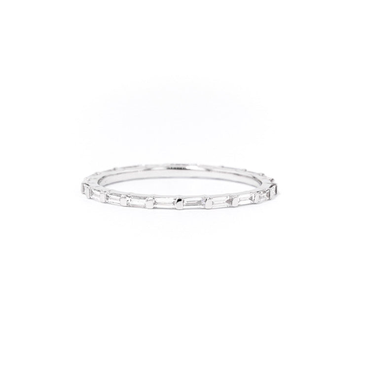 1.3mm Belvedere Ring Princess Bride Diamonds