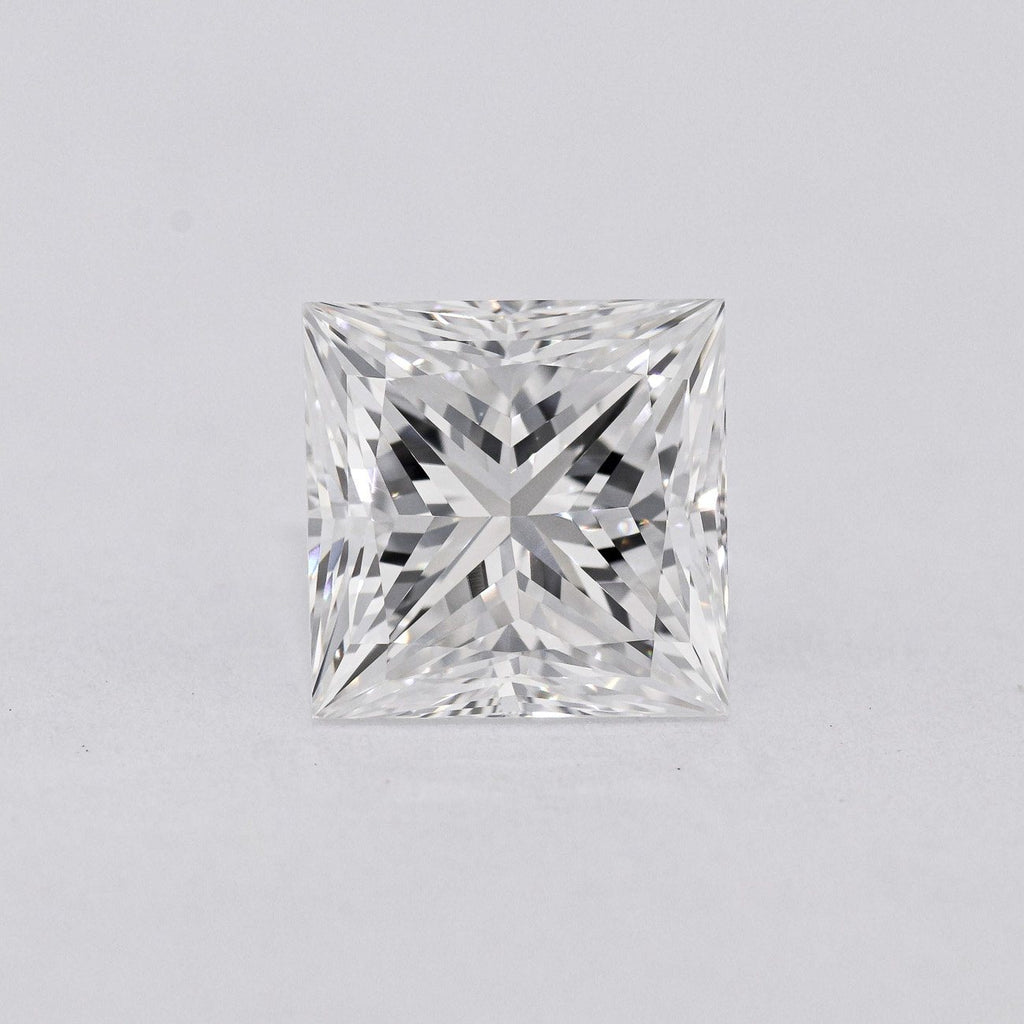 2.02 Carat E-VS2 Princess Cut Natural Diamond - GIA Loose Diamond Princess Bride Diamonds