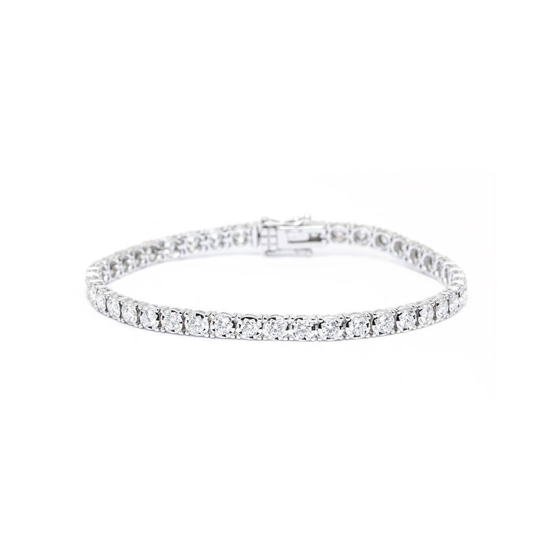 3.00ct Diamond Tennis Bracelet Bracelet Princess Bride Diamonds