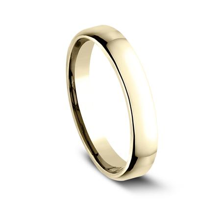 3.5mm Euro Comfort Fit Band Ring Princess Bride Diamonds