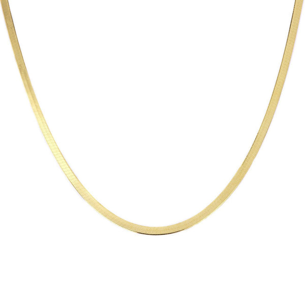 3.8mm Herringbone Chain Necklaces Princess Bride Diamonds