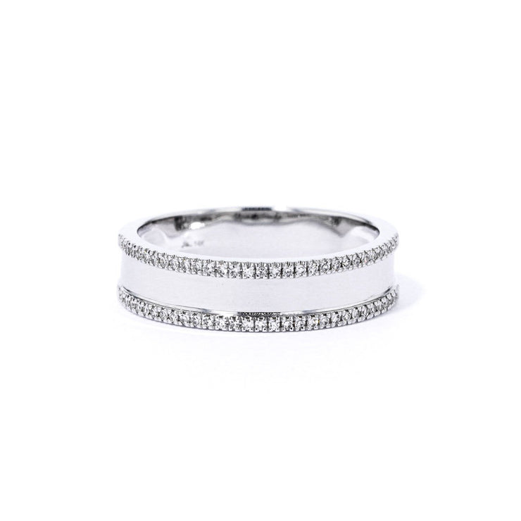 5.0mm Carter Plain Diamond Ring Ring Princess Bride Diamonds