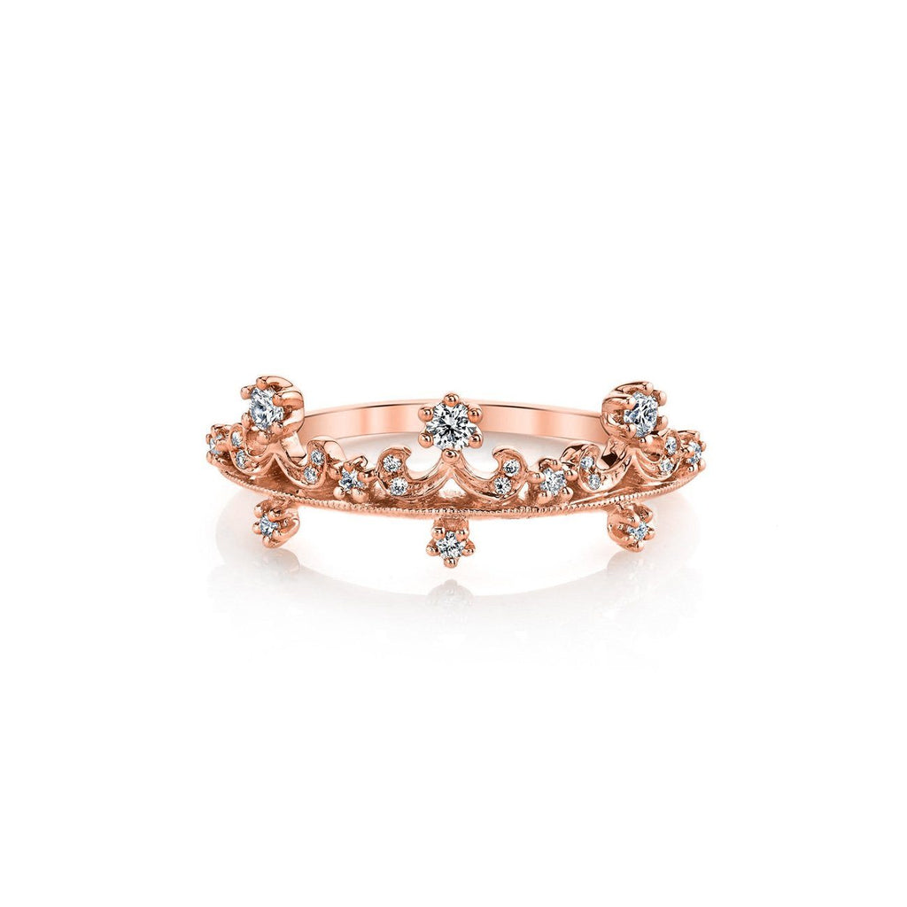 Anastasia Diamond Ring BD3902A Ring Parade Design 3 18K Rose Gold
