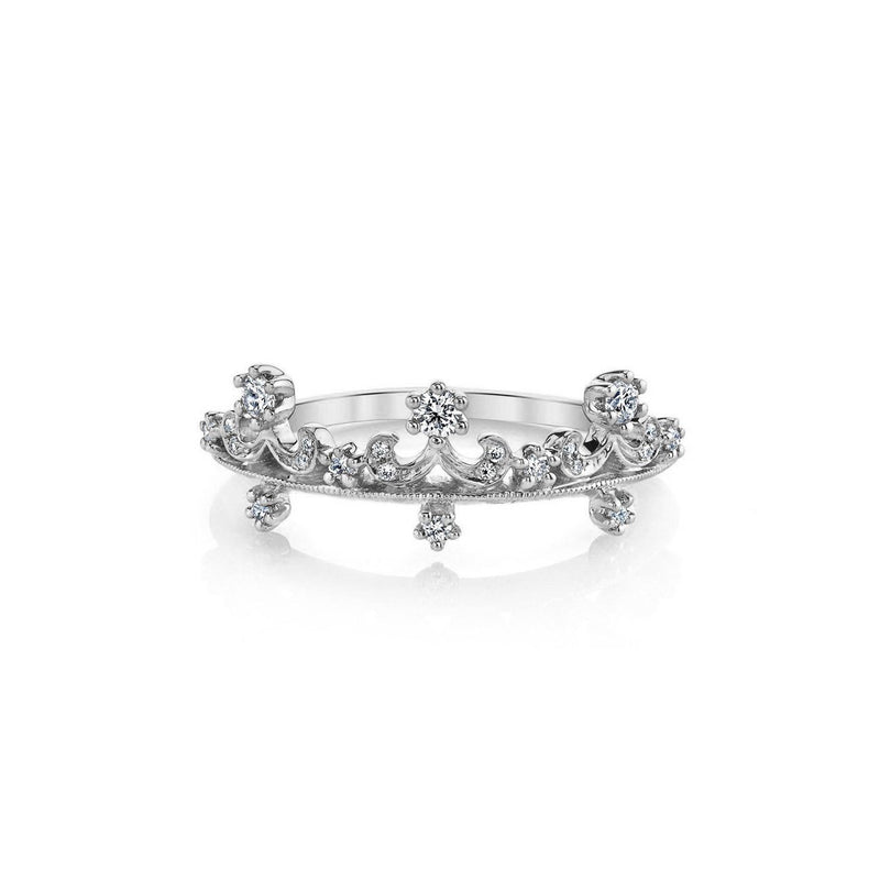 Anastasia Diamond Ring BD3902A Ring Parade Design 3 18K White Gold
