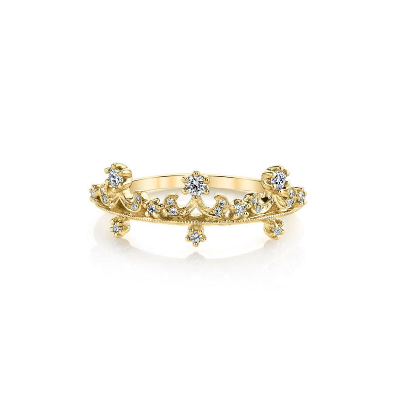 Anastasia Diamond Ring BD3902A Ring Parade Design 3 18K Yellow Gold