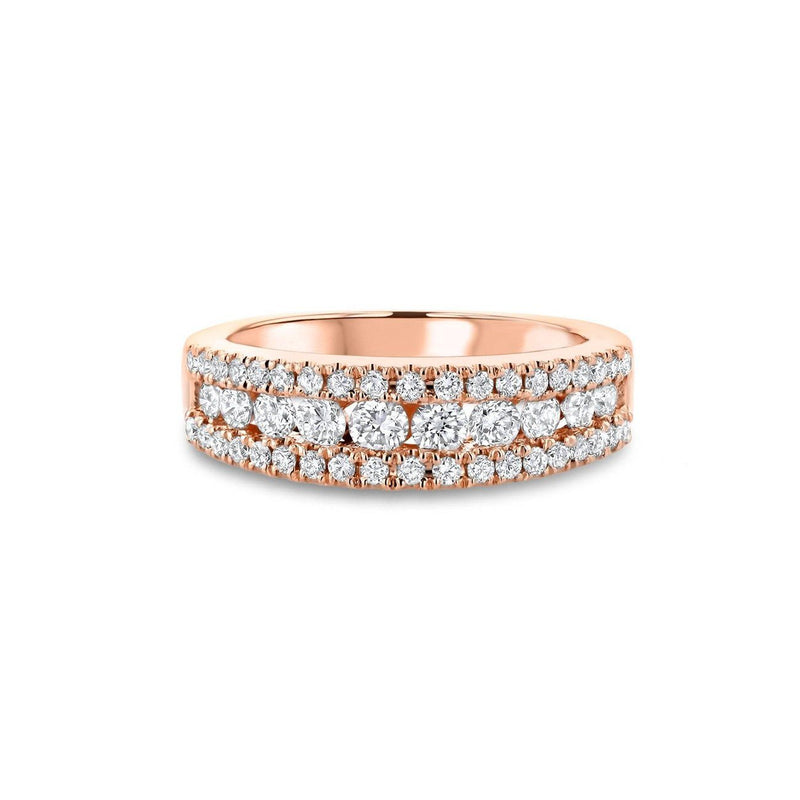 Angela Diamond Ring Ring Princess Bride Diamonds 3 14K Rose Gold