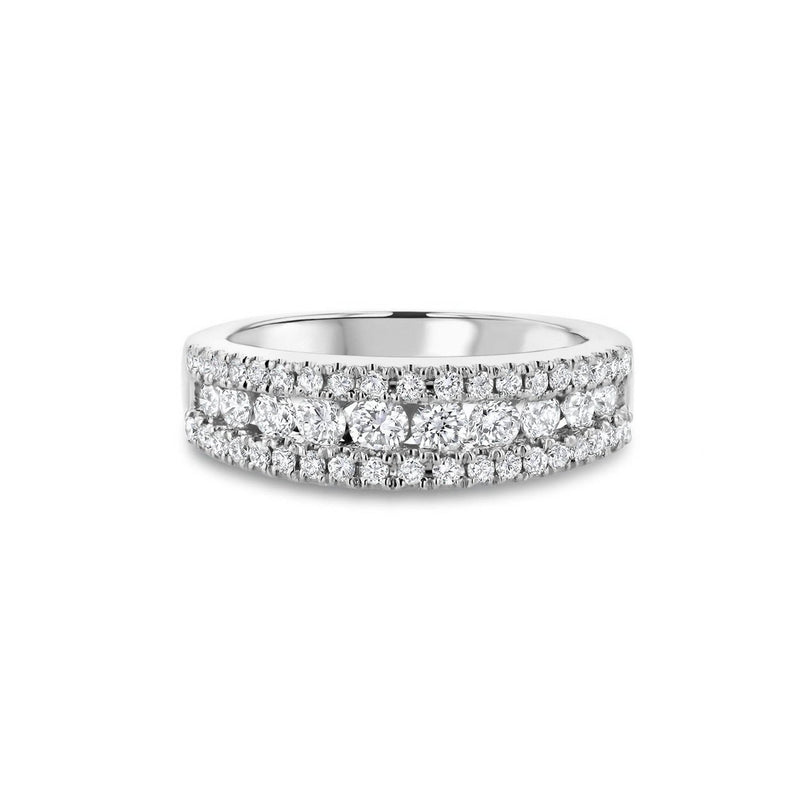 Angela Diamond Ring Ring Princess Bride Diamonds 3 14K White Gold