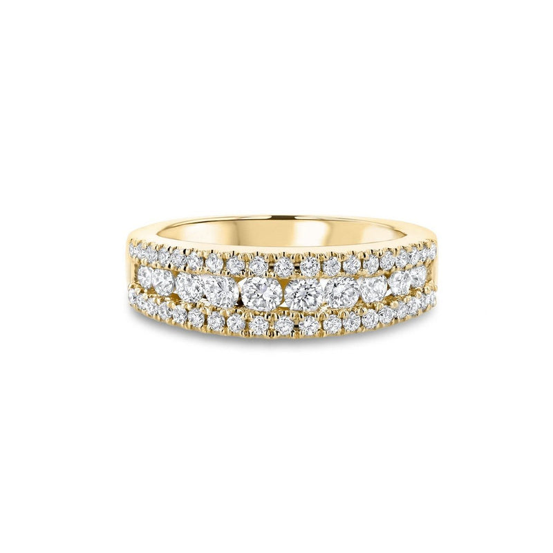 Angela Diamond Ring Ring Princess Bride Diamonds 3 14K Yellow Gold