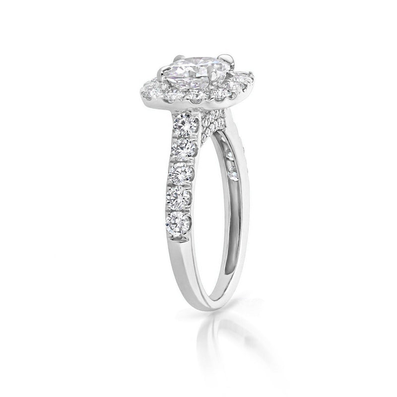 Bella Cushion Engagement Rings Sarah Nicole