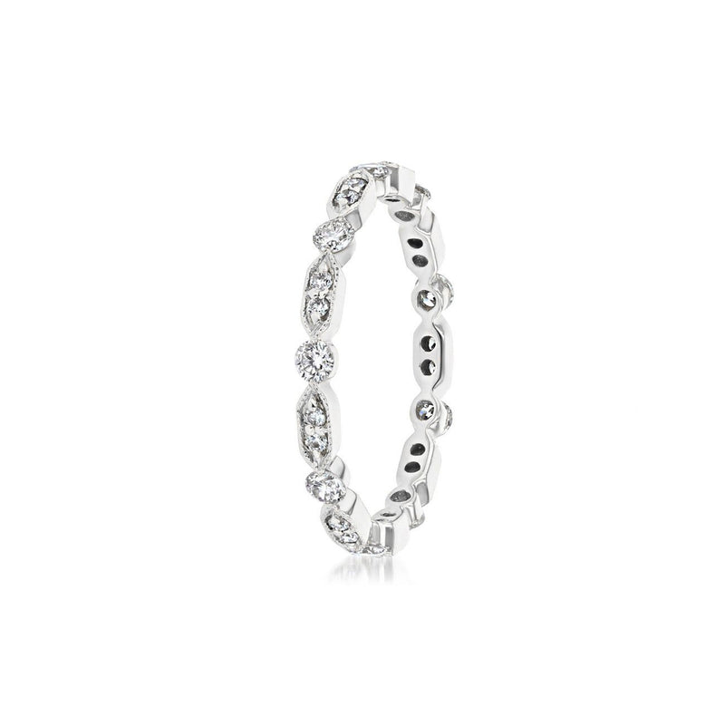 Belle Eternity Diamond Stackable Ring Ring Princess Bride Diamonds