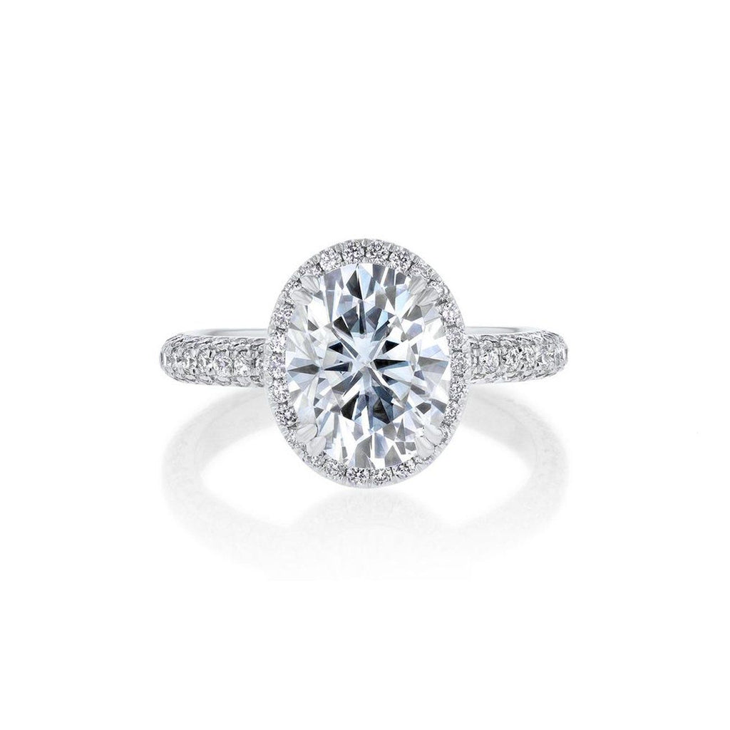 Chelsea Oval Engagement Rings Sarah Nicole