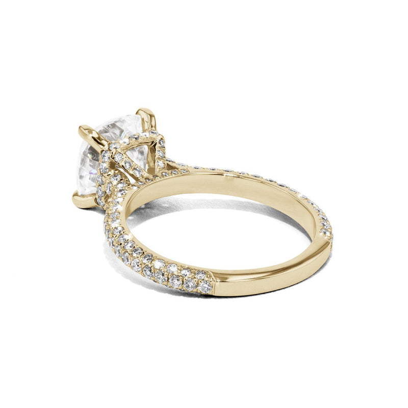 Christina Cushion Engagement Rings Sarah Nicole