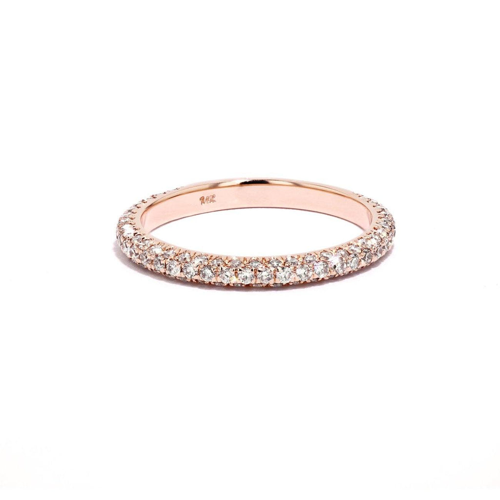 Christina Diamond Diamond Ring Ring Princess Bride Diamonds 3 14K Rose Gold