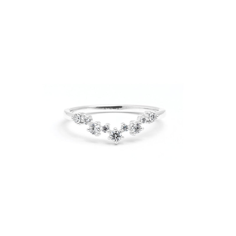 Constellation Diamond Ring Ring Princess Bride Diamonds 3 14K White Gold