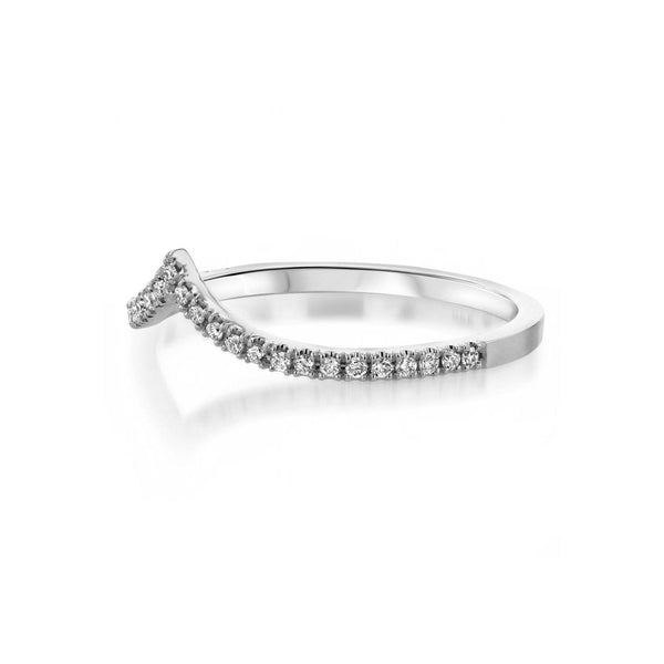 Diamond Chevron Stackable Ring Ring Princess Bride Diamonds