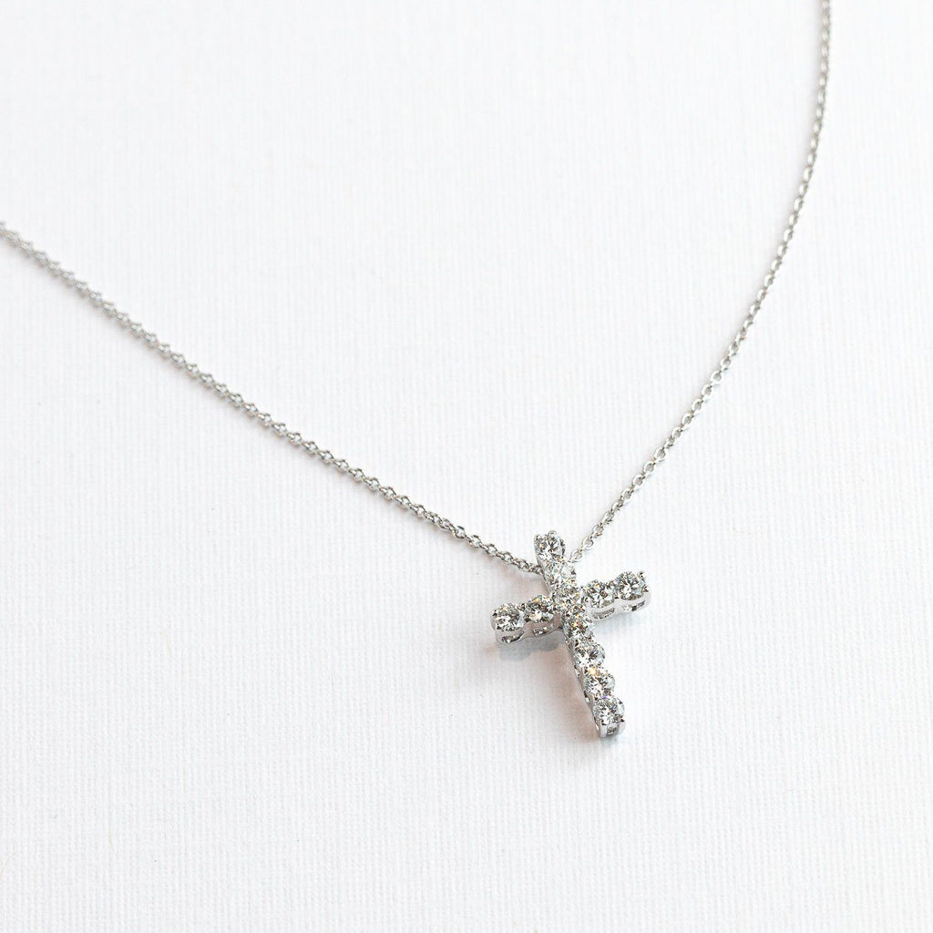 Diamond Cross Necklace Necklaces Princess Bride Diamonds