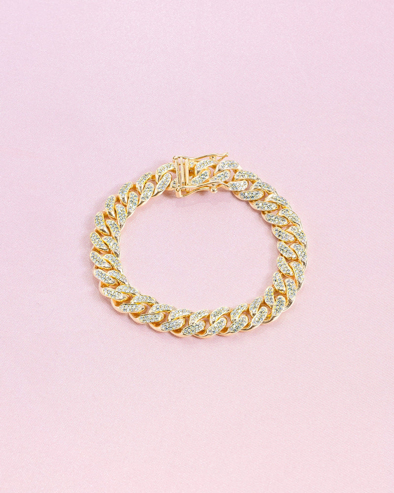 Diamond Cuban Bracelet Princess Bride Diamonds